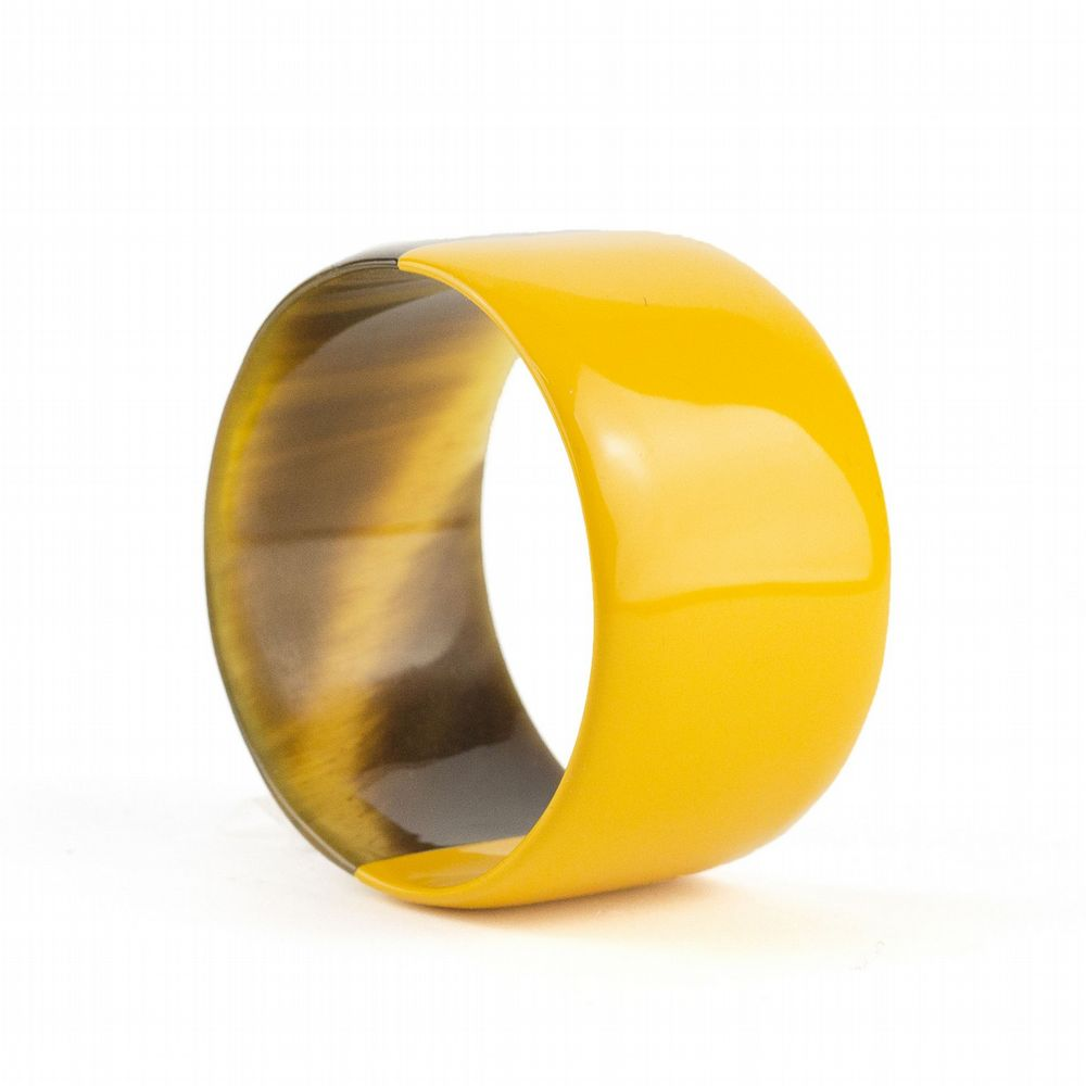 Bracelet Horn Yellow - Large